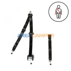 3 points rear automatic security, vertical anchor, 400 CM