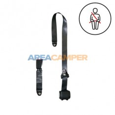 3 points automatic security belt, horizontal anchor, 400 CM