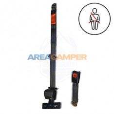3 points rear left automatic security with fixing plate, vertical anchor, 270 CM