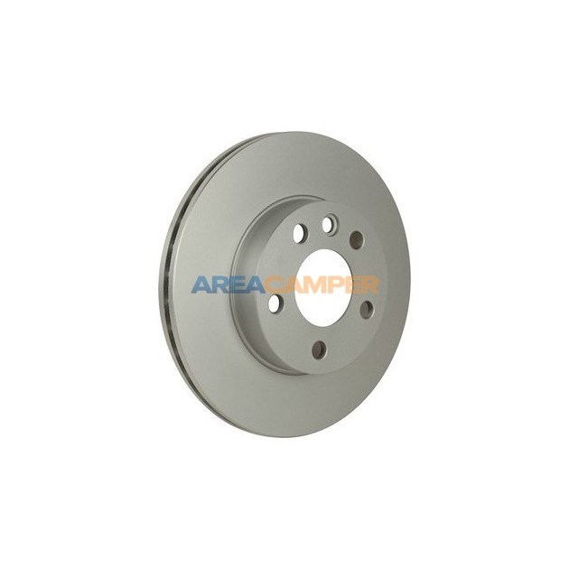 "Ventilated front brake disc for 15"" rim Ø 280 X 24 mm (03/1996-06/2003), for ATE or Lucas system"