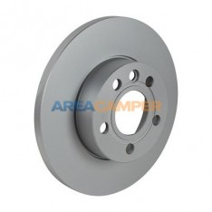 "Solid front brake disc for 15"" rim Ø 282x18 mm VW T4 (01/1996-06/2003), PR-1LP"