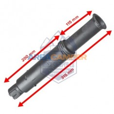 Oil filler pipe VW T3 aircooled 1.6L (CT,CZ), 2.0L (CU,CV) and 1.6L D (CS - from chassis 086921 to 164415)