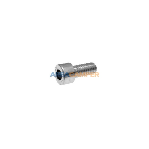 Screw M8x1.25 20 mm stainless steel A2, cylindrical head with hexagonal socket