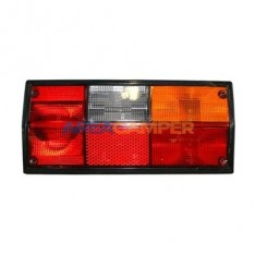 Right tail lamp lens, for Hella type socket