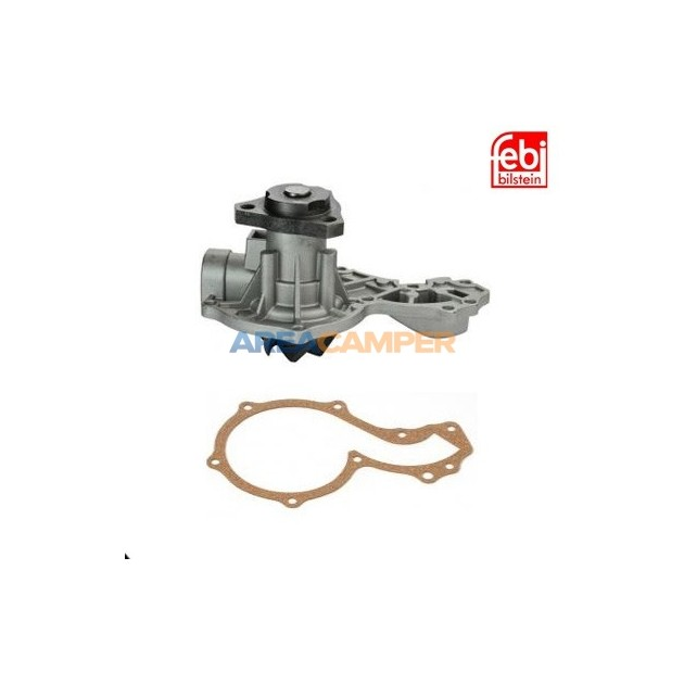 Water pump (half, pulley side) for VW T3 (01/1981-07/1985) 1.6L D (CS) and TD (JX), Ø 40 mm pulley shaft
