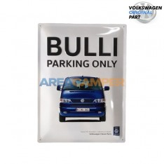 "Cartel chapa ""Bulli Parking..."