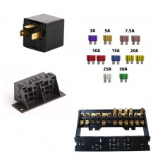 RELAYS, SENSORS, SWITCHES